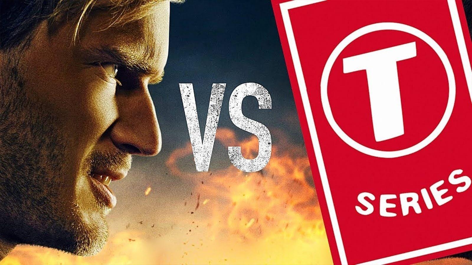 YouTube'un Zirvesinde Artık T-Series Var! Abone Savaşları : Yetiş PewDiePie!